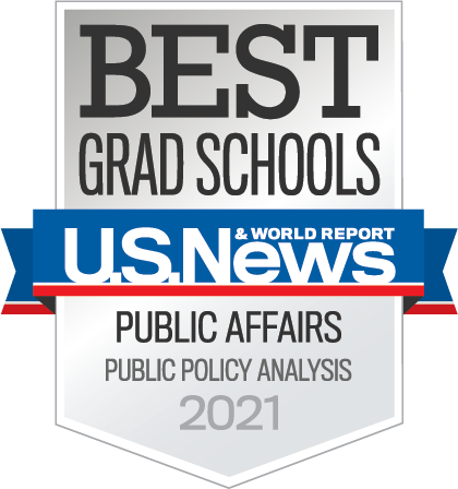 U.S. News Best Grad Schools Public Policy Analysis 2021