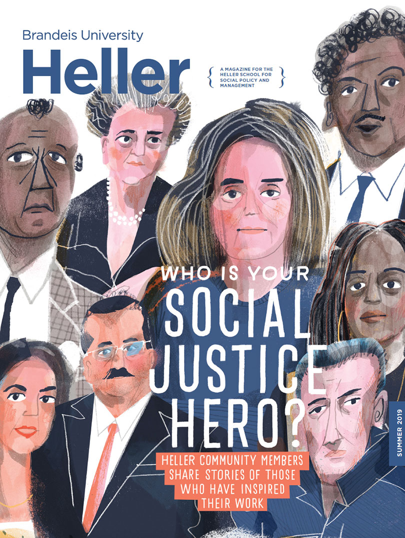 Cover of Summer 2019 Heller Magazine