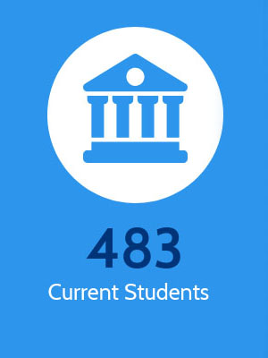 Heller has 483 current students