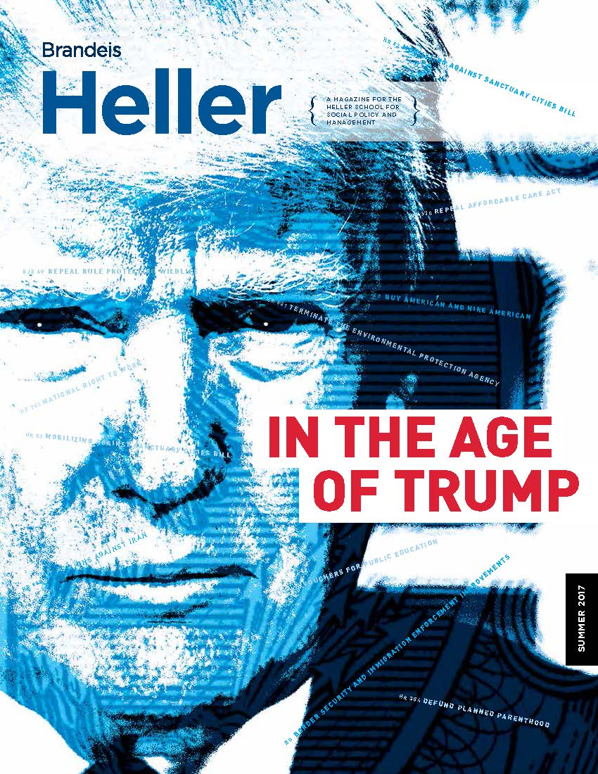 Cover of Summer 2017 Heller Magazine
