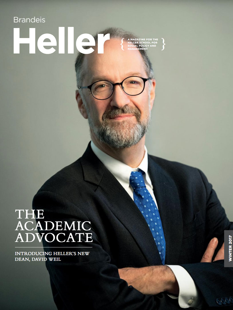 cover of Winter 2017 Heller Magazine