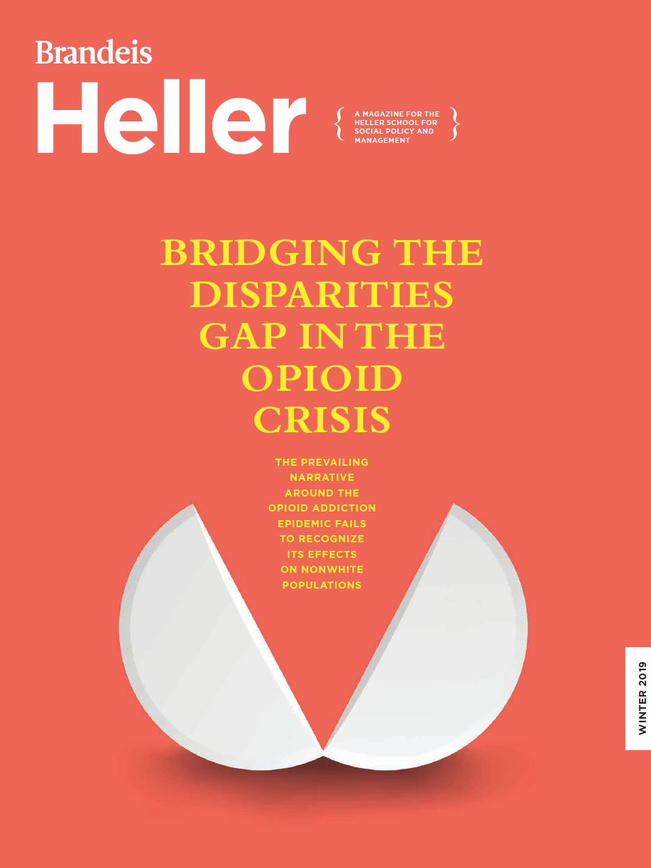 Cover of Winter 2019 Heller Magazine